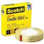 3M SCOTCH 665 1/2雙面膠紙