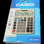CASIO DM1200FM 12位 計數機