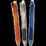 斑馬牌 4色原子筆+鉛芯筆