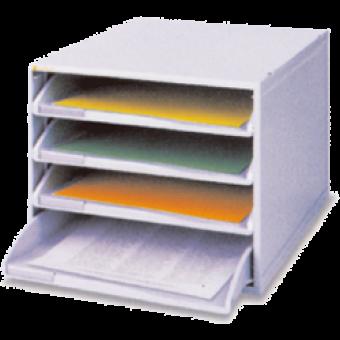 SYSMAX #13105 開放式4層 塑膠文件櫃