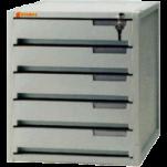 SYSMAX 1205K 5層有鎖塑膠文件櫃