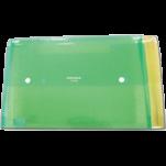 透明斜紋雙鈕文件盒